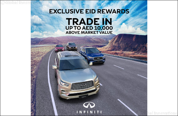 INFINITI of Arabian Automobiles Launches Exclusive Eid Rewards Campaign