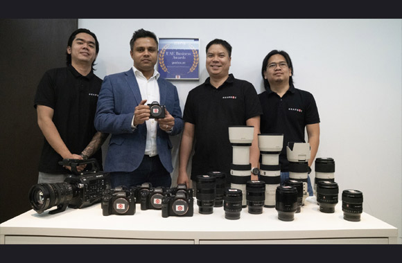 Sony Middle East and Africa and Gearbox team up to offer rental services of latest digital imaging products in the UAE