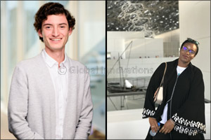 Two NYU Abu Dhabi Graduates Awarded Prestigious Yenching Scholarships