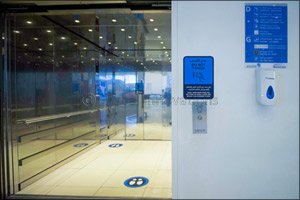 Abu Dhabi Airports Introduces First-of-its-kind Touchless Elevator Technology to Enable COVID-19-fre ...