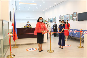 Philippine Ambassador Leads Inauguration of Passport Renewal Facility in Abu Dhabi on Philippine Ind ...