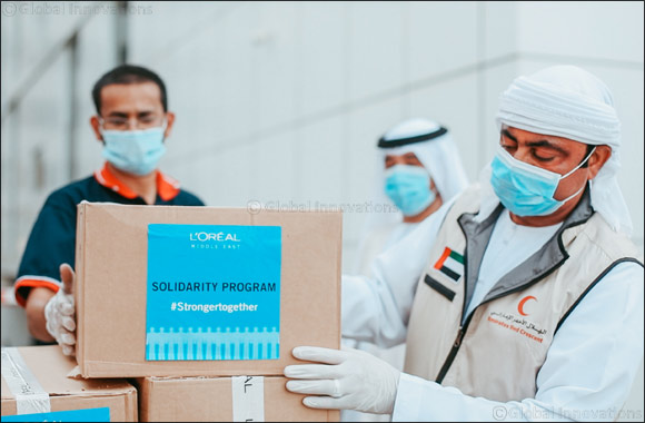 L'oréal Middle East Launches UAE Solidarity Programme to Support the Nation's COVID-19 Relief Efforts