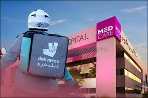 Medcare and Deliveroo Partner to Offer the convenience of medication delivery to pharmacy and patien ...