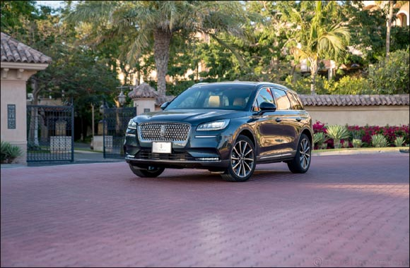 Sanctuary for the Senses: All-New Lincoln Corsair Arrives with Whisper-Quiet, Confident Ride and Sophisticated Interior'