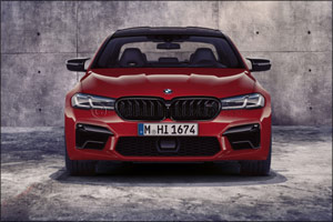 The new BMW M5 and BMW M5 Competition