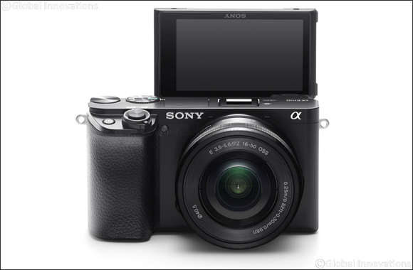Handy Helper for Content Creators: The Compact A6100 Mirrorless Camera from Sony Middle East & Africa