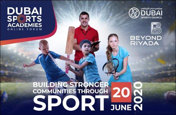 Dubai Sports Council and Beyond Riyada Organise Virtual Dubai Sports Academy Forum