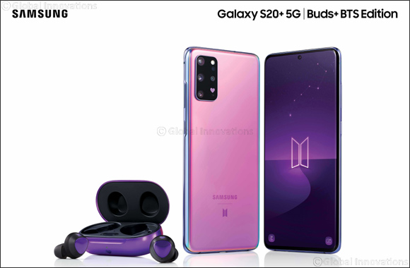 Pre-orders for Samsung's Galaxy S20+ 5G and Galaxy Buds+ BTS Edition now open in the UAE