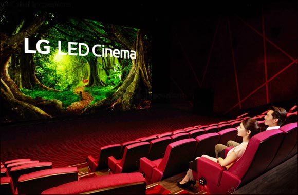First Movie Theater With LG LED Cinema Display   and Dolby Atmos Makes Movies Even More Magical