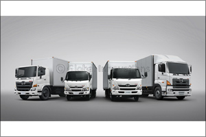 HINO Leads Japanese Commercial Vehicles with 47% Market Share in the UAE