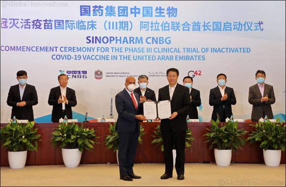 Sinopharm CNBG and G42 Vaccine Clinical Trials Partnership