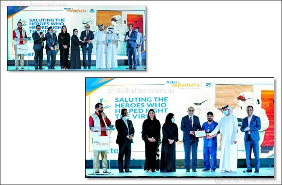 Frontline Warriors and Volunteers from two Al Warsan isolation facilities honoured for helping 1500 Covid-19 patients in Dubai