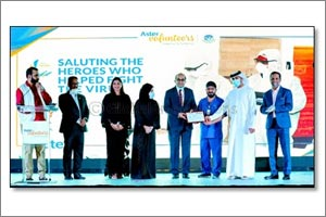 Frontline Warriors and Volunteers from two Al Warsan isolation facilities honoured for helping 1500  ...
