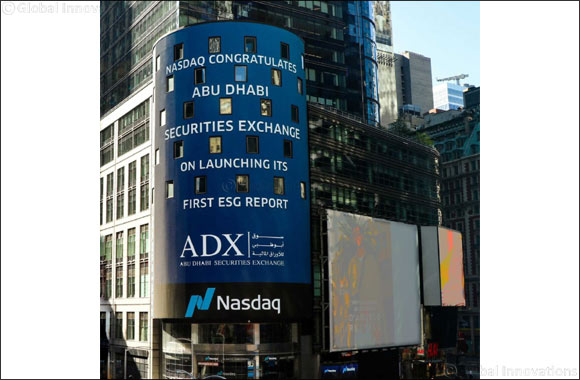 Abu Dhabi Securities Exchange (ADX) Introduces Region's First Comprehensive Sustainability Report