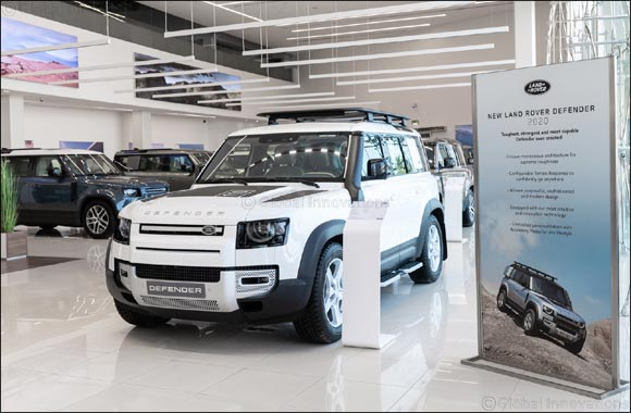 An Icon Returns: All-New Land Rover Defender Arrives at Al Tayer Motors and Premier Motors Showrooms in the UAE