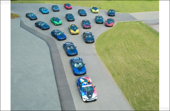 Final 18 BMW i8 cars leave Plant Leipzig