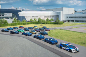Final 18 BMW i8 cars leave Plant Leipzig
