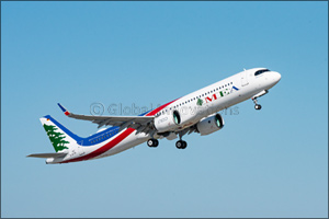 Middle East Airlines (MEA) Receives its First Airbus A321neo