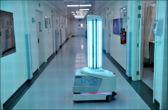 Dubai Health Authority Uses Artificial Intelligence to Sterilize Its Health Facilities.