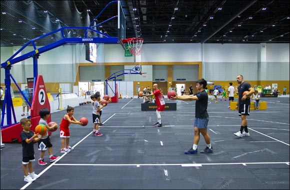 "Lebanese Basketball Legend El Khatib Lauds Dubai Sports Council and DWTC for ""Amazing"" Dubai Sports World"