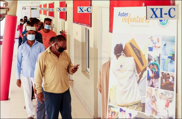 Aster Volunteers' Free Medical Camp in Ras Al Khaimah Benefit 800+ People