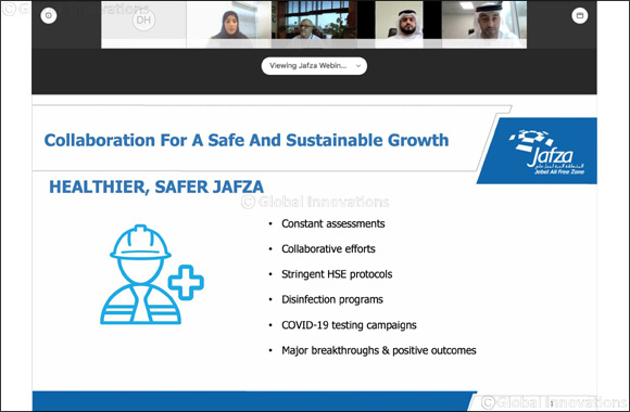 Jafza Sets a New Benchmark With 'collaboration for Safe and Sustainable Growth' Webinar'