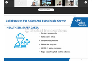 Jafza Sets a New Benchmark With �collaboration for Safe and Sustainable Growth' Webinar'