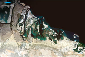 MBRSC Releases 0.7 Meter Satellite Image �Mosaic�  Captured by KhalifaSat