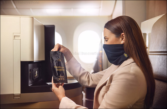 Etihad Airways Introduces Microbebarrier™ Face Protection for Premium Passengers