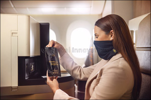 Etihad Airways Introduces Microbebarrier� Face Protection for Premium Passengers
