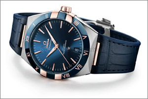 Introducing the New Omega Constellation Gents' Collection'