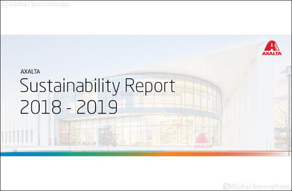 Axalta Releases 2018-2019 Sustainability Report