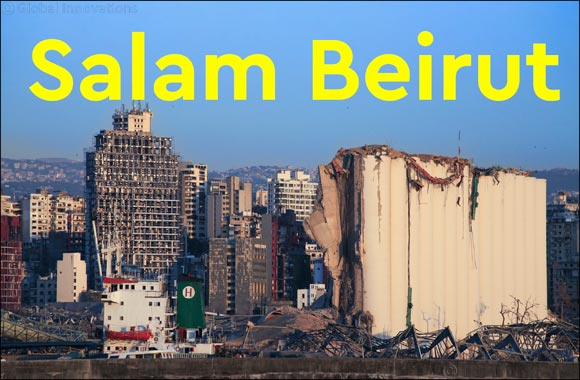Jawaher Al Qasimi Launches 'Salam Beirut' Campaign Aiding Lebanon Explosion Victims
