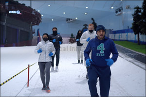 Participants from 46 different Countries to Line Up for DXB Snow Run at Ski Dubai
