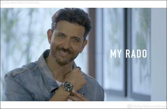 Rado and Hrithik Roshan