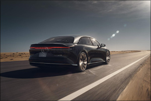 Lucid Air Sets a New Standard for Electric Vehicles  with an EPA Estimated Range of 517 Miles on a S ...