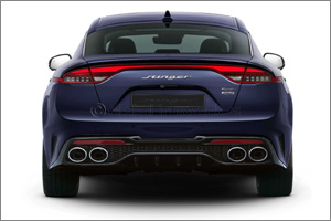 Kia Reveals New Design for Fastback Stinger