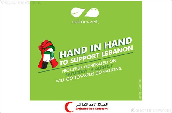 Zaatar W Zeit UAE Launches #handinhand Initiative to Support Lebanon
