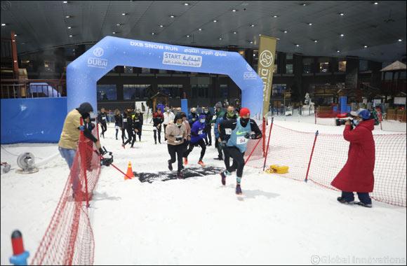 Emirati Al Nuaimi and Gemany's Hansske top the charts in the DXB Snow Run at Ski Dubai