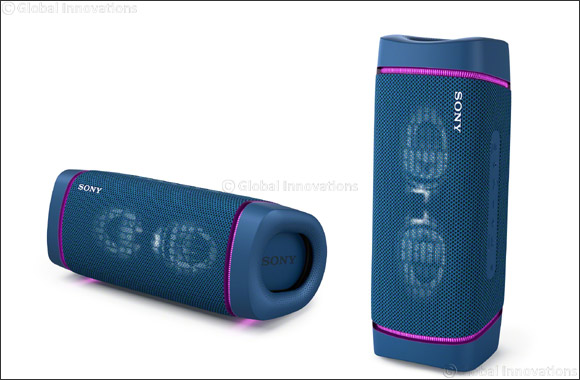 Enjoy Superior Sound Wherever and Whenever with Sony's Latest EXTRA BASS™ Wireless Speakers, Now Available in the UAE