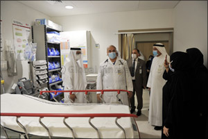 Dubai Hospital's Emergency Department Receives More Than 8,000 Cases a Month