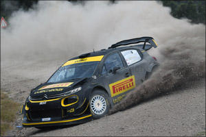 Pirelli Begins World Rally Championship Testing Programme