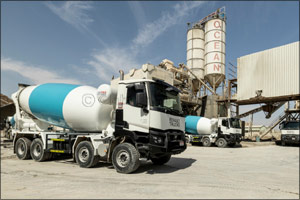 Middle East First for Renault Trucks and Ocean Readymix & Precast With New Transit Mixer Deal
