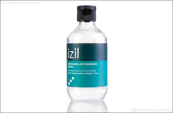 izil Moroccan Beauty Launches an All-Natural Rose Micellar Cleansing Water