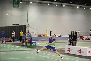 Four Different Nations in Badminton Semis of Dubai Sports Community Club's Tournament