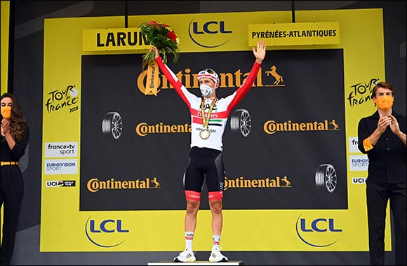 Momentous Win for UAE Team Emirates' Tour Debutant Tadej Pogacar