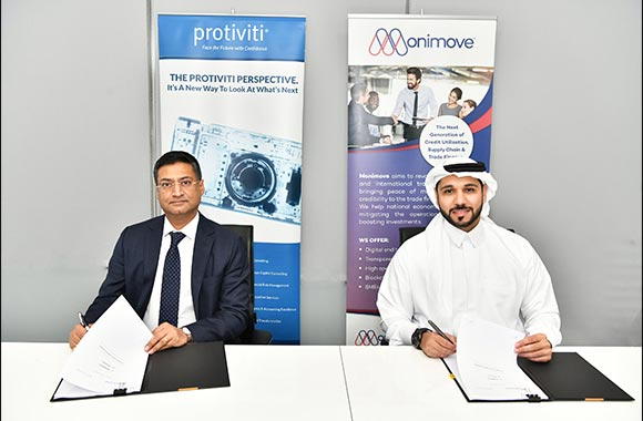 Protiviti and Monimove Forges Strategic Partnership to Provide Next-Gen Credit Utilization, Supply Chain and Trade Finance in the UAE