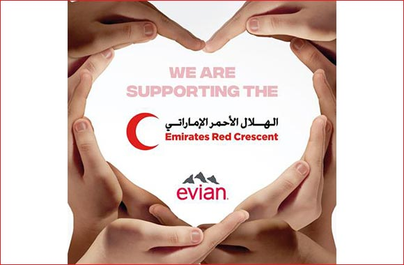 Evian Supports COVID-19 Relief Efforts by Donating 56,000 Bottles of Water to 'fund of U'AE