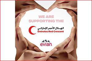 Evian Supports COVID-19 Relief Efforts by Donating 56,000 Bottles of Water to �fund of U'AE
