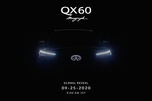 INFINITI Illuminates the Road Ahead with QX60 Monograph